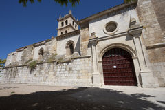 Church of Duenas, Palencia Royalty Free Stock Photos