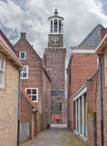 Church in the Dutch town of Heusden. Stock Photo