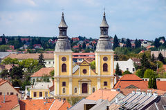 Church in Eger Stock Image
