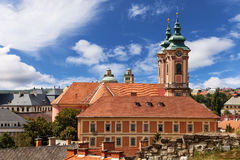 Church in Eger, Hungary. Royalty Free Stock Images