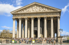 Church Eglise de la Madeleine en París Fotografía de archivo libre de regalías