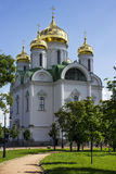 The church of Ekatherine. In Pushkin Royalty Free Stock Photo