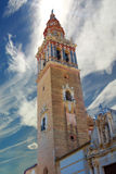 Church of el Carmen in the Andalusian city of Ecija, Spain Royalty Free Stock Image