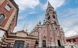 Church El Carmen in Bogota, Colombia Stock Photos