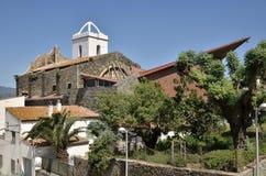 Church of El Port de la Selva in Spain Stock Images
