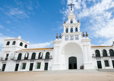 The Church of El Rocio, Spain Stock Photo