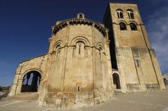 Church of El Salvador, Sepulveda. Segovia province, Castilla-Leo Stock Image