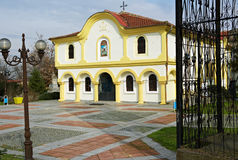 Church of Elhovo town in Bulgaria Royalty Free Stock Photography