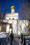 The Church of Elijah the Prophet in Cherkizovo Stock Image