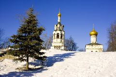 The Church of Elijah the Prophet in Cherkizovo Royalty Free Stock Images