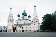 Church of Elijah the Prophet. UNESCO Heritage. Royalty Free Stock Photo