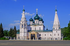 The Church of Elijah the Prophet in Yaroslavl. Royalty Free Stock Images