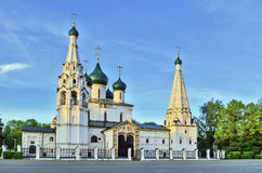 Church of Elijah the Prophet, Yaroslavl Royalty Free Stock Photography