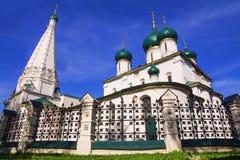 Church of Elijah the Prophet, Yaroslavl, Russia Royalty Free Stock Image