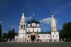 Church of Elijah the Prophet in Yaroslavl Stock Images