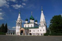 Church of Elijah the Prophet in Yaroslavl Stock Photography