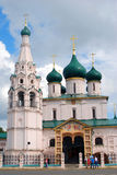 Church of Elijah the Prophet in Yaroslavl (Russia) Royalty Free Stock Image
