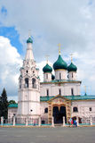 Church of Elijah the Prophet in Yaroslavl (Russia) Stock Photos