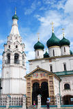 Church of Elijah the Prophet in Yaroslavl (Russia) Stock Images