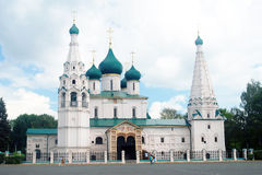 Church of Elijah the Prophet in Yaroslavl (Russia). Royalty Free Stock Photography