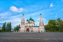 Church of Elijah the Prophet in Yaroslavl Stock Image