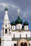 Church of Elijah the Prophet in Yaroslavl (Russia). Royalty Free Stock Image