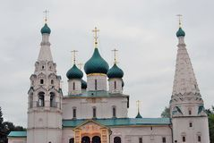 Church of Elijah the Prophet in Yaroslavl (Russia). Stock Photo