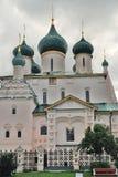 Church of Elijah the Prophet in Yaroslavl Russia. Church of Elijah the Prophet in Yaroslavl Russia famous by its original 17th century frescoes. UNESCO World Stock Photo