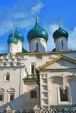 Church of Elijah the Prophet in Yaroslavl Russia. Church of Elijah the Prophet in Yaroslavl Russia famous by its original 17th century frescoes. UNESCO World Stock Photography