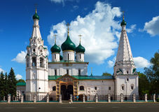 Church of Elijah the Prophet at Yaroslavl Stock Photo