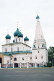 Church of Elijah the Prophet in Yaroslavl. UNESCO Heritage. Stock Images