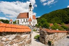 Church in Engelhartszell, Austria Stock Photos