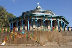 Church Entoto Maryam, Addis Ababa, Ethiopia Royalty Free Stock Images