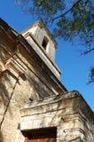 Church entrance. Stone built church, 1820 settlers, Bathurst, Eastern Cape, South Africa Royalty Free Stock Photography