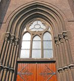 Church entrance Royalty Free Stock Images