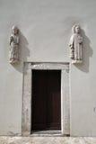 Church entrance Royalty Free Stock Image