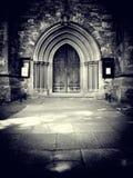 Church entrance Stock Photography