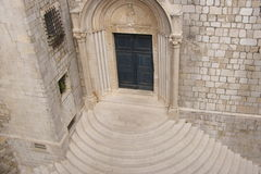Church entrance Stock Photography