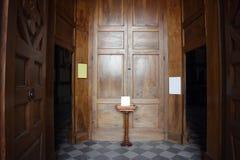 Church entrance Royalty Free Stock Photo