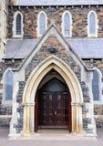 Church entrance Stock Image