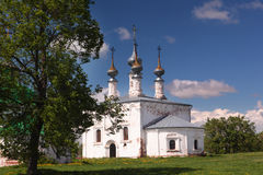 Church of the Entrance of the Lord into Jerusalem in Suzdal, Russia Stock Photo