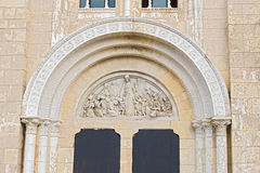 Church entrance Panama city Stock Photo