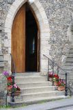 Church entrance. Petworth. Sussex. UK Royalty Free Stock Photos
