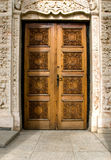 Church entrance in Romania Royalty Free Stock Image