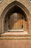 Church entrance Stock Images