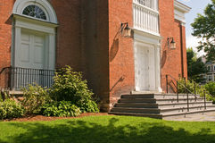 Church entrance and steps Stock Photography