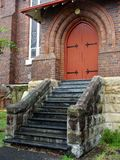 Church Entrance Stock Photo