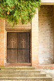 Church Entry Royalty Free Stock Image