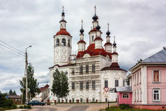 The Church of the Entry into Jerusalem, Totma, Russia Royalty Free Stock Photography