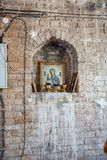 Church of the Entry of the Lord into Jerusalem. stock images
